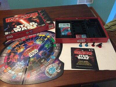 Disney Hasbro - Monopoly Star Wars New, In Opened Box!