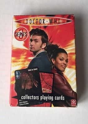 Doctor WHO Series 3 Playing Cards