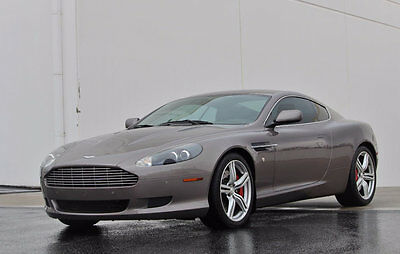 2008 Aston Martin DB9 2dr Coupe Manual 2008 Aston Martin DB9 Coupe 6 Speed Manual in Oyster Silver Only 8,141 Miles