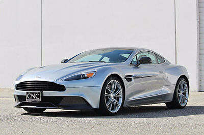 2014 Aston Martin Vanquish 2dr Coupe 2014 Aston Martin Vanquish Coupe in Lightning Silver Loaded / Only 10,223 Miles
