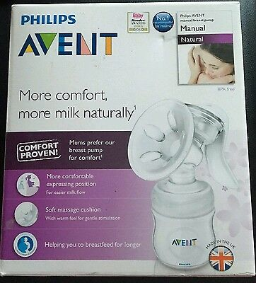 Philips Avent 'Natural' Breast Pump - Single Electric *Brand New*