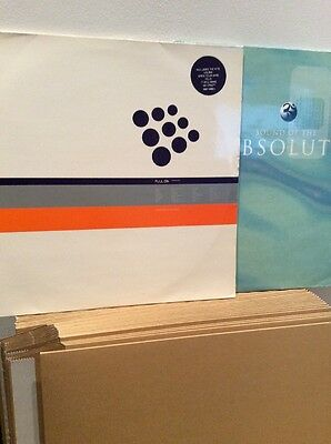 Deconstruction Full On AND Sound Of Absolute 2 x Double Vinyl LP's : 90s House