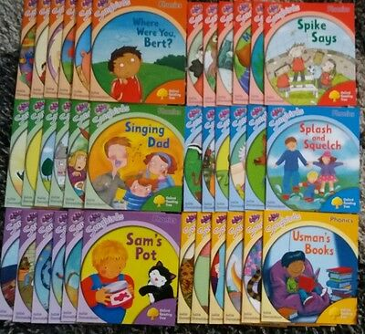 Oxford Reading Tree Songbirds Phonics Collection Book Set Stages 1-6 boy girl