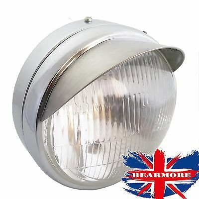 Royal Enfield Classic 350Cc & 500Cc Efi Headlight Peak Visor Headlamp For Uce