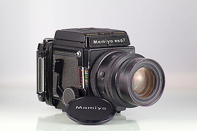MAMIYA SLR 6X7 RB67 PRO S + 90mm KL + 120 + WL FINDER CLA REVISADA Y GARANTIZADA