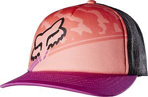 Fox Racing Activated Womens Snapback Trucker Hat Melon OS