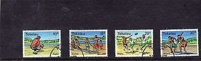 Tokelau Islands - 1979 F/used Local Sports Set.