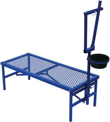 North Star Folding Goat Stanchion with Feed Pan