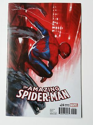 Amazing Spider-Man #24 Gabriele Dell'otto Variant 1:25 Rare Hard To Find Hot Nm