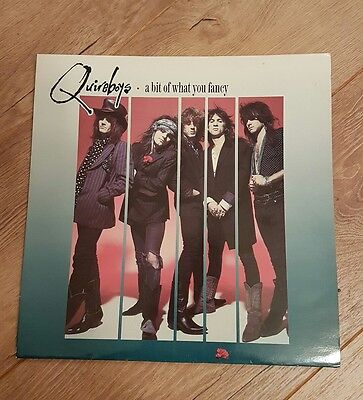 Quireboys - A Bit Of What You Fancy Vinyl LP Record - Original 1990