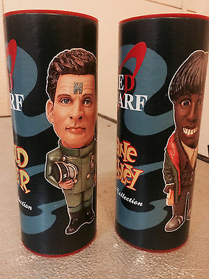 """Red Dwarf - 6"""" D-Form Kits By Sevans - Arnold Rimmer And Duane Dibbley - Rare"""