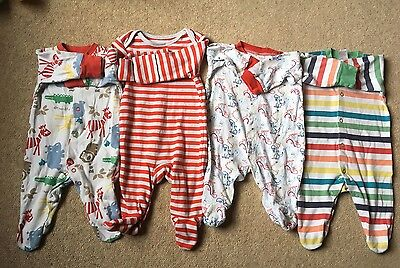 Bundle Baby grows, Aged 0-3 Months - Assorted Colours