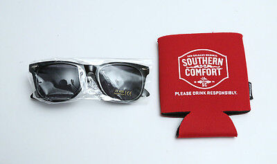 Southern Comfort Set Koozie and Sunglasses New!