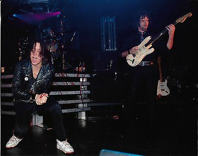 JULIAN CASABLANCAS The Strokes US Rock Band Handsigned Photograph