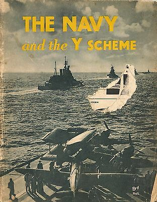 The Navy And The Y Scheme Wwii Hmso Booklet Ww2 Published For The Admiralty 1944