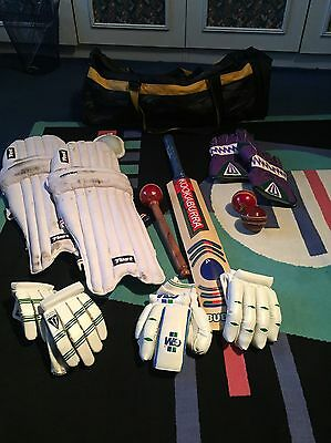 Fantastic complete cricket set! Only used a few times!