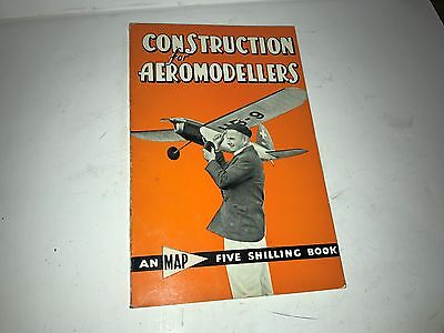 Construction For Aeromodellers Tether Hydroplane / Cars Illustrated  Vintage Toy