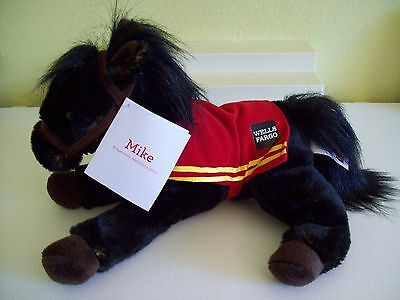 Wells Fargo 2016 LEGENDARY MIKE THE PONY  w/ Tags Chestnut Plush Horse