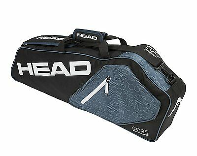 Head Core 3R Pro Tennis Racquet Racket Bag - Grey - Auth Dealer - Reg $55