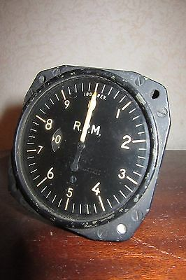 ww2 mustang p51 indicator cockpit piece aviation clock aircraft instrument us