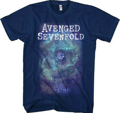 Avenged Sevenfold A7X Space Face The Stage Metal Rock Music Mens T Shirt 7A138