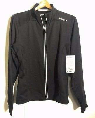 2XU Men's SMD Thermo Run Fitness Jacket Top Size S Small NEW NWT Black
