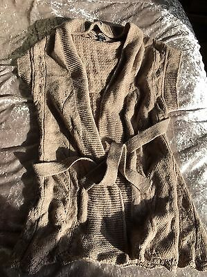 H And M Mama Maternity Cardigan Size 14