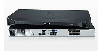 Dell 1081AD Rack Mount Console KVM - Boxed with Rack Kit