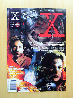 The X-Files Uk Official Magazine # 4 September 1995 - Published By Manga