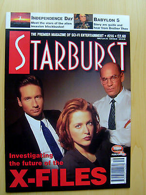 Starburst Magazine Issue #216 - The X-Files Featured Edition