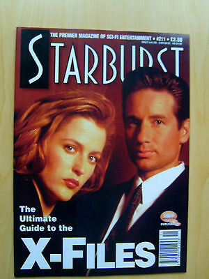 Starburst Magazine Issue #211 - The Ultimate Guide To The X-Files