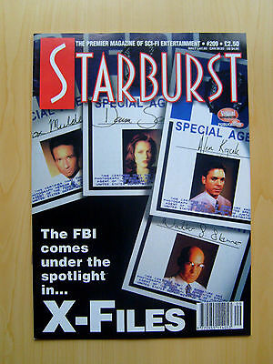 Starburst Magazine Issue #209 - The X-Files Featured Edition