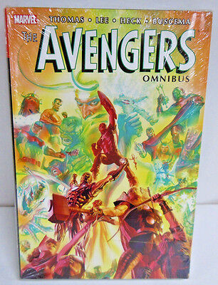The Avengers Volume 2 Omnibus ALEX ROSS COVER HC Hard Cover New Sealed $100