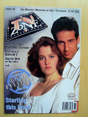 Tv Zone Uk Magazine Issue #76 - The X-Files Dossiers March 1996