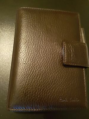 Paul smith leather organiser filofax pocket inserts fit