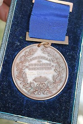 Beckenham education committee attendance medal