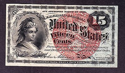 US 15c Fractional Currency 4th Issue FR 1271 XF
