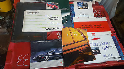 Toyota celica owners manual  From st205 gt4