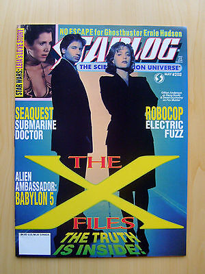 Starlog Magazine Issue #202 - The X-Files The Truth Is Inside