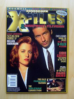 Cinescape Presents The X-Files & Conspiracy Television Collector's Issue