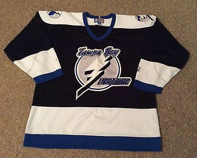 Vintage Mid 90's, Tampa Bay Lightning Ice hockey shirt, XL