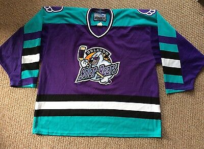 1995 Vintage Orlando Solar Bears Ice hockey shirt, XL