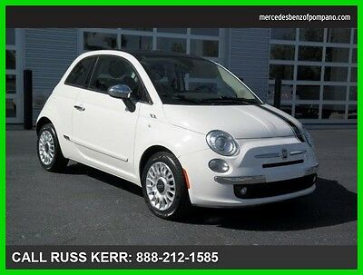 2013 Fiat 500 Lounge Manual Front Wheel Drive Clean Carfax 2013 Fiat Lounge Manual Front Wheel Drive Hatchback We Finance
