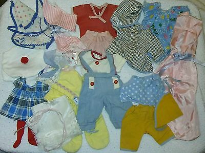 """Large Vintage Clothing Lot for 11"""" Tiny Tears Betsey Wetsy - NO Doll *SEE PICS*"""