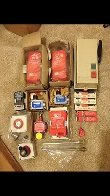 Guardmaster Burgess Telemacanique Electrical Switches Bundle
