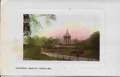 Old  Postcard Nottingham Aboretum Chinese Bell