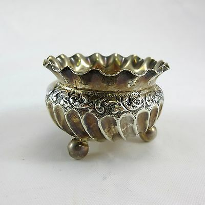 Hayes Brothers Sterling Silver Footed Salt Cellar