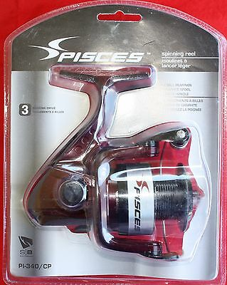 South Bend Pisces Spinning Reel Pi-340/cp 3 Ball Bearings New