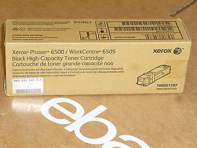 Xerox Phaser 6500/WorkCentre 6505 106R01597 High-Capacity Toner Cartridge