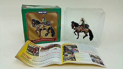Breyer 2003 Father Christmas Holiday Horse Ornament 700113 with box